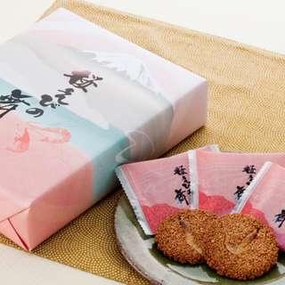 日本直送 伊豆手信系列 櫻花蝦簿脆 12枚入 賀年禮盒