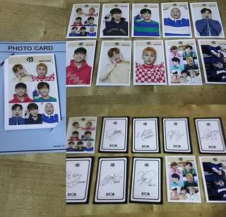 [Readystock] BTOB Photocard
