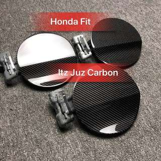 Honda Fit Carbon fuel cover