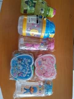 Set water bottle & lunch box