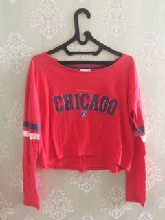 Cotton On Croptee Chicago Longsleeve