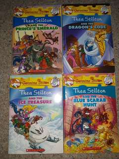 Geronimo Stilton Books / Thea Stilton