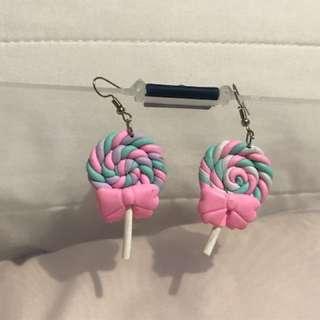 🍭 Lollipop earrings 🍭