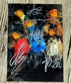 BIGBANG 親筆簽名*非現貨*