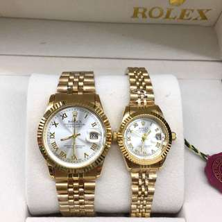 ROLEX COUPLE SET