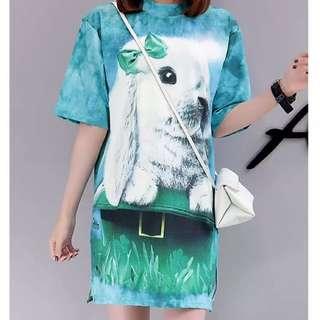 Loose Dress M-2XL