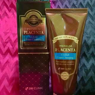 Placenta Foaming Cleanser 180ml