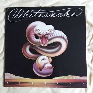 Whitesnake - Trouble Vinyl Record