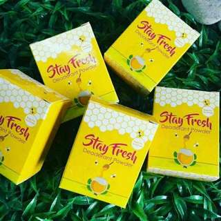 HONEY BEE STAY FRESH DEODORANT POWDER 💕💕💕