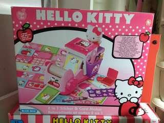 Hello Kitty Sticker & Card Marker