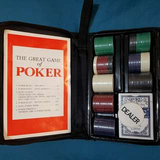 The Great Game of Poker Set