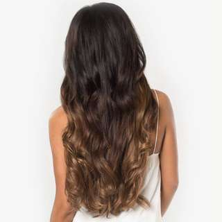 160g Luxy Hair Extensions in Ombre Chestnut