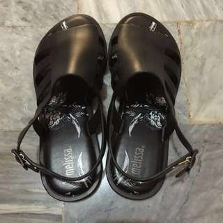 Auth Melissa Wine Boemia Sandals