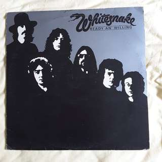 Whitesnake - Ready n Willing Vinyl Record