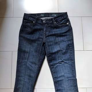 USED Levis Jeans Straight cut Size 28 x 32 (Women)