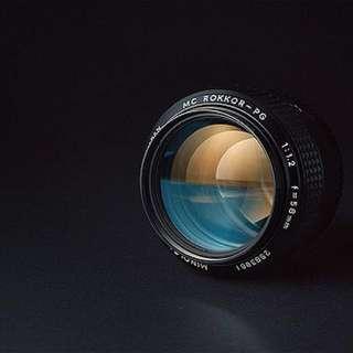 Minolta Rokkor 58mm f1.2