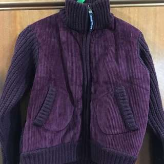 Dark Purple Winter Jacket