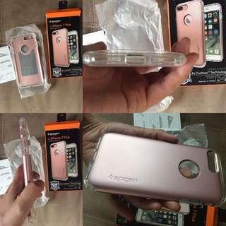 COD Spigen iPhone 7 plus Slim Armor Protector Rose Gold GENUINE
