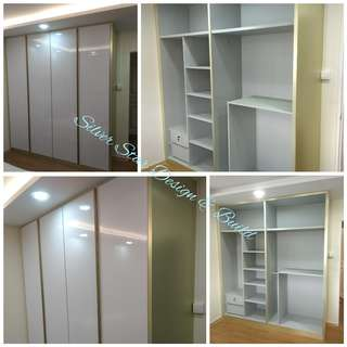 Built in wardrobes factory price