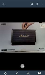 BNIB-Marshall Stockwell Portable Speakers