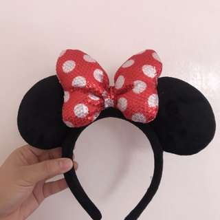 Minnie Mouse Headdress