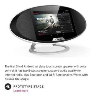 """Clazio 7"""" android speaker system"""