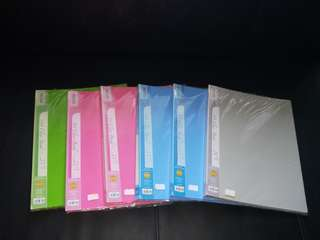A4 Clear Folder (20 pockets/40 sheets)
