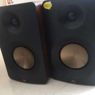 賣Jbl cm202電腦喇叭,有單有保養有盒,幾日前買