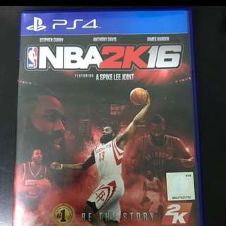 NBA 2K16 and 2K14 PS4 $10 each!!!