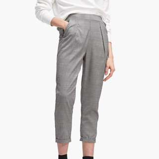 Bershka Checkered Pants