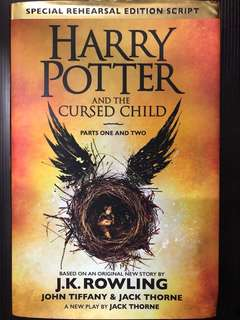 哈利波特Harry Potter and the cursed child