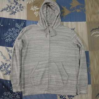 Zip hoodie Uniqlo original Size Xl grey misty