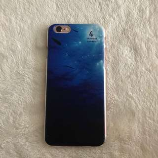 ombré blue phone case