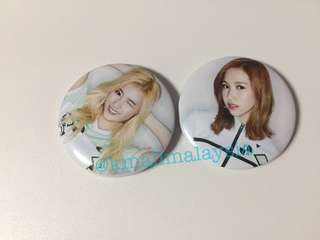Twice Button Badge