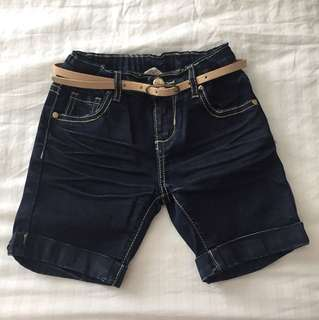 Maong shorts by Moose girl