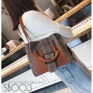 2in1 Shoulder/Sling Bag
