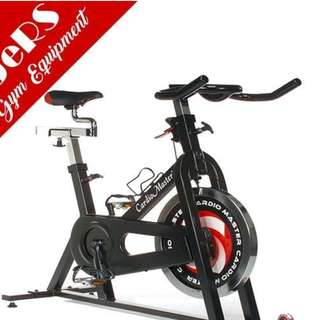 Cardio Master Spinner Bike (Black)