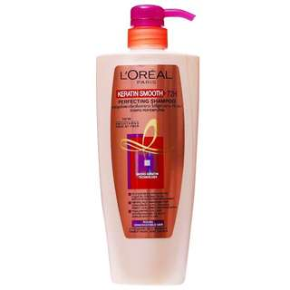 BN LOreal Keratin Smooth 72h Perfecting Shampoo 650ml