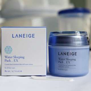Laneige Water Sleeping Mask & Biotherm Toner set
