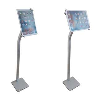 "iPad Tablet floor Stand with Lock for 10-12.9"" Whatsapp:8778 1601"