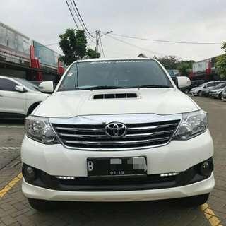 Toyota Fortuner G 2.5 Vnt Tutbo Tahun 2013 pajak Panjang