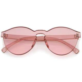 Sunglasses candy pink