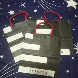 Small Sephora Paper Bags