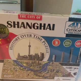 4D Cityscape Time puzzle Shanghai China