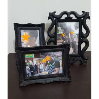 Photo Frames - P300 for set of 3 or P120 each