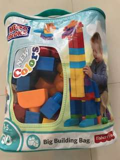 BN Mega Blocks Big Building Bag