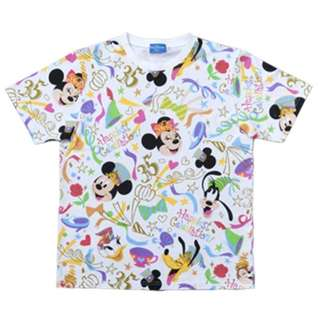 Tokyo Disneysea Disneyland Disney Resorts Sea Land 35th Anniversary Happiest Celebration Mickey Mouse T-Shirt Preorder