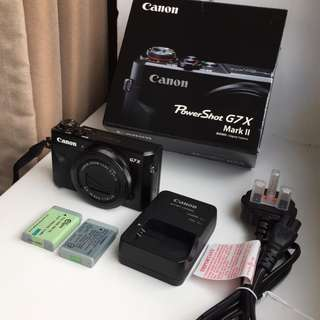 Canon g7x Mark 2