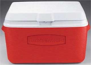 US Rubbermaid 34quarts Cooler (RED)