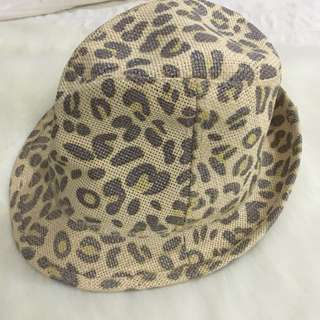 Aldo Animal Print Beach Hat